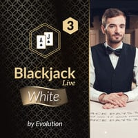 Blackjack White 3 by Evolution