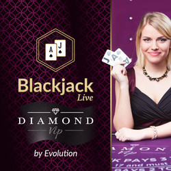 Blackjack Diamond VIP by Evolution