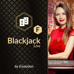 Blackjack F by Evolution