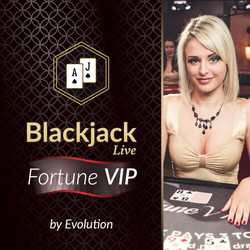 Blackjack Fortune VIP by Evolution