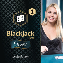 Blackjack Silver 1 by Evolution