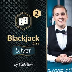 Blackjack Silver 2 by Evolution
