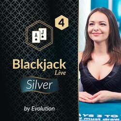 Blackjack Silver 4 by Evolution
