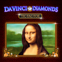 Scratch Da Vinci Diamonds Tic-Tac-Toe