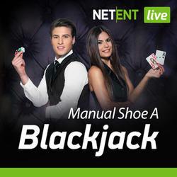 Live Blackjack Manual Shoe A By NetEnt