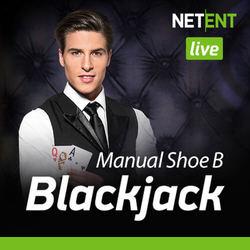 Live Blackjack Manual Shoe B By NetEnt