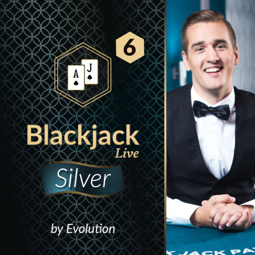 Blackjack Silver 6 by Evolution