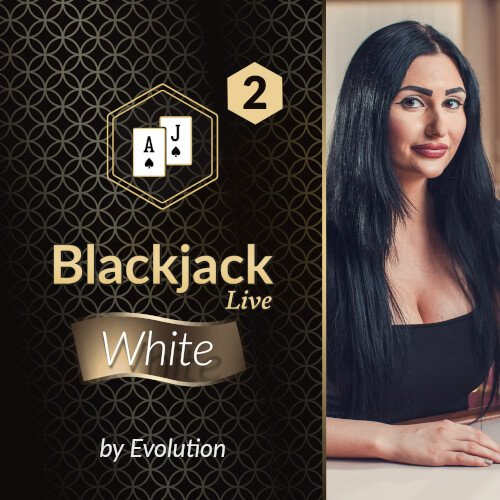 Blackjack White 2 by Evolution