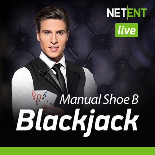 Live Blackjack Manual Shoe B By NetEnt