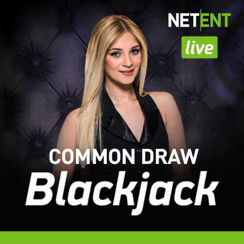 Live Luxury Common Draw Blackjack By NetEnt