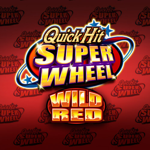 Quick Hit Super Wheel Wild Red